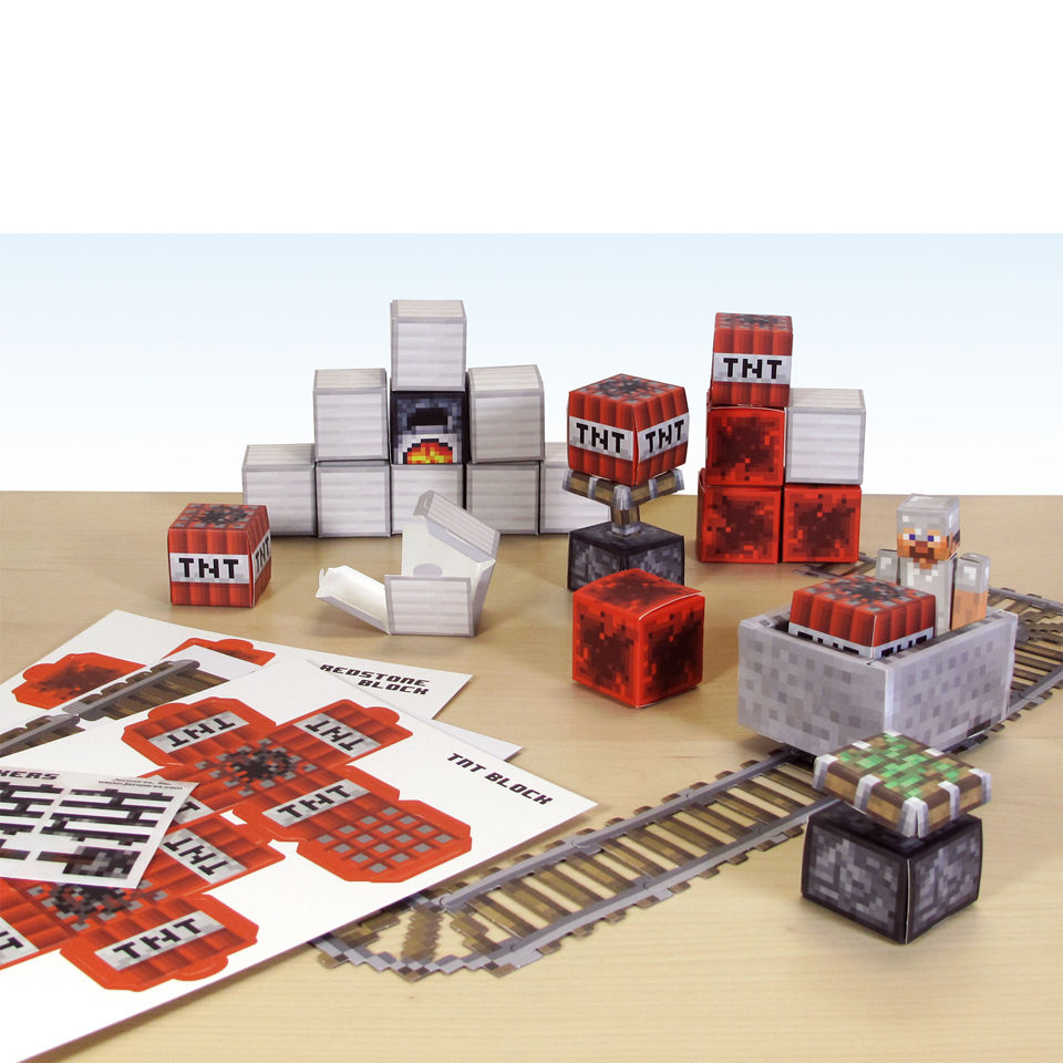 minecraft-papercraft-over-48-piece-sets