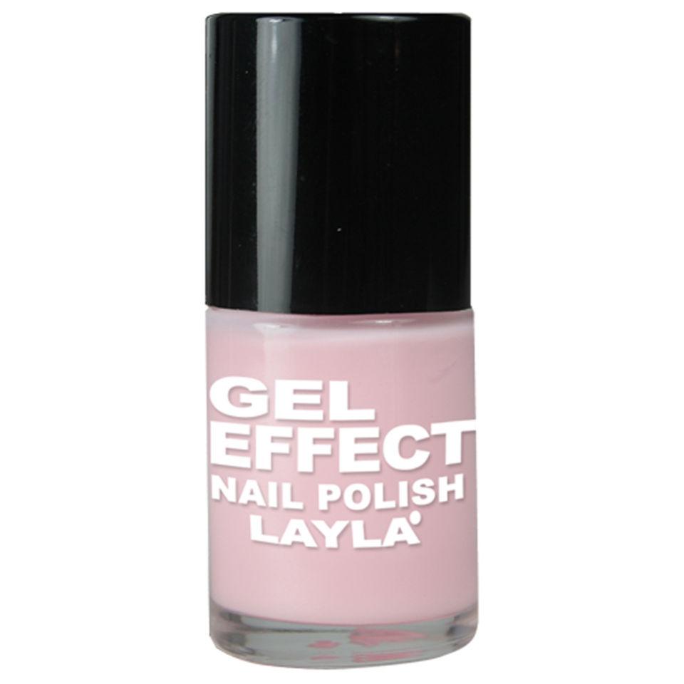 Layla Cosmetics Gel Effect Nail Polish N.02 Pinky Doll (10ml) | HQ Hair