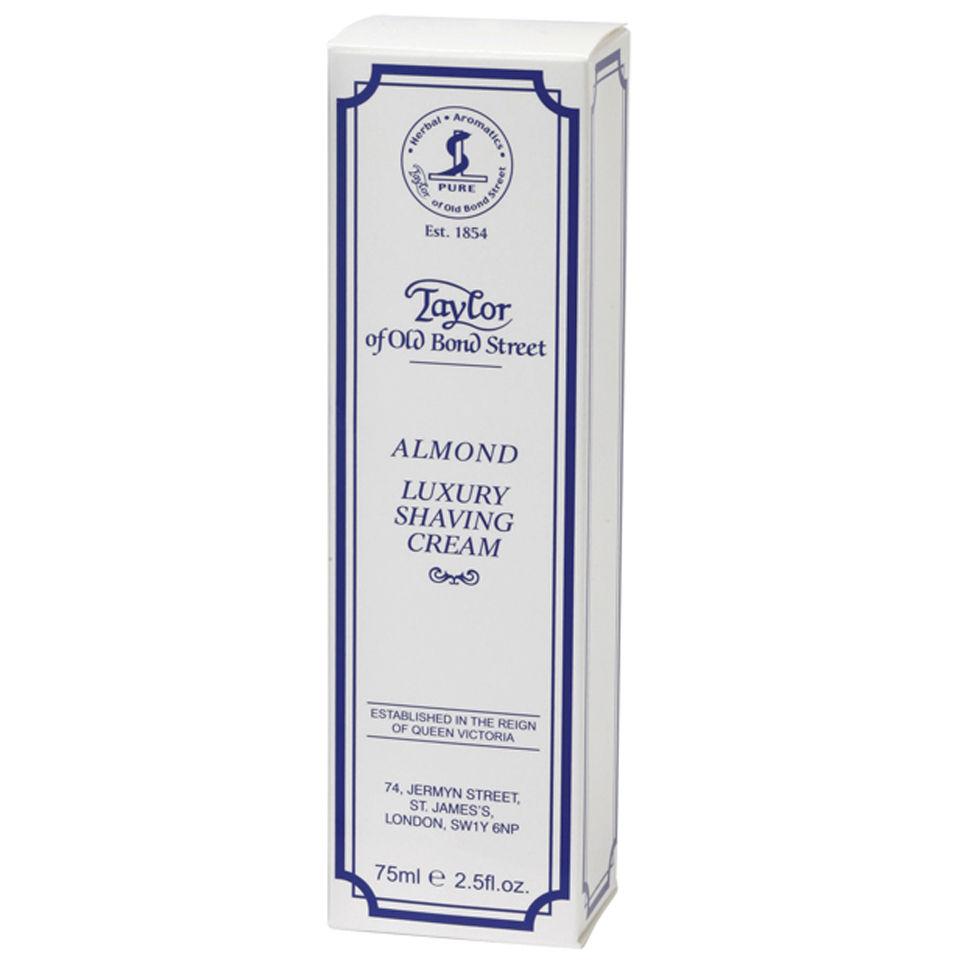 Taylor Of Old Bond Street Shaving Cream Tube (75g) Almond