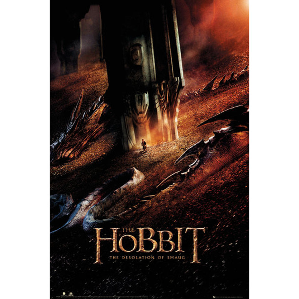 the-hobbit-desolation-of-smaug-dragon-maxi-poster-61-x-915cm