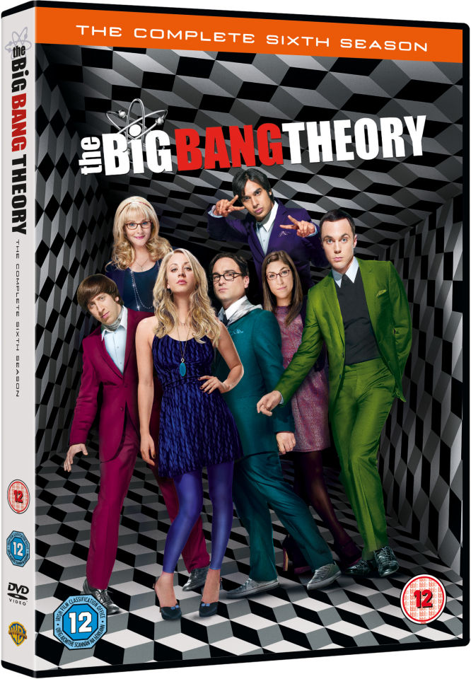 The big bang theory seizoen 6 dvd zavvi nl