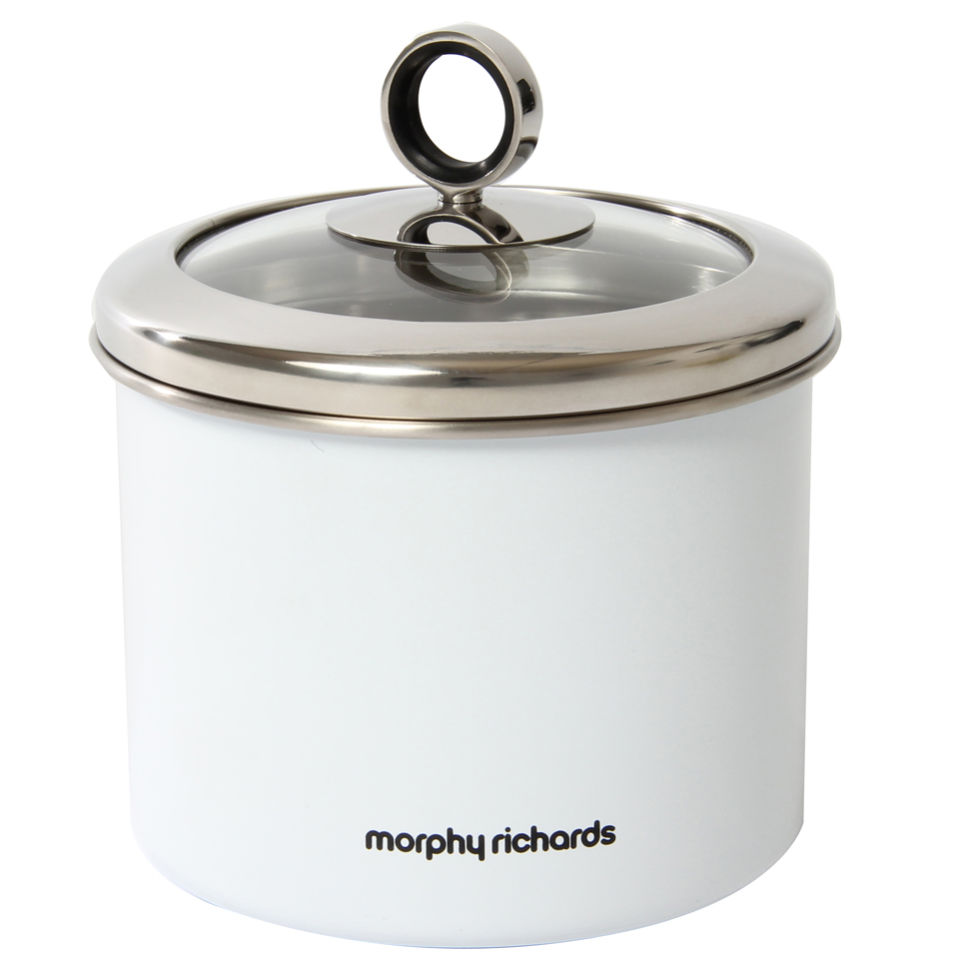 morphy-richards-accents-small-storage-canister-white