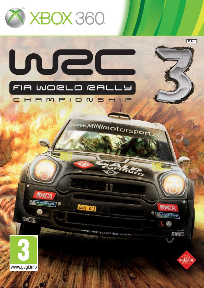 Wrc World Rally Championship 3 Xbox 360 Zavvi