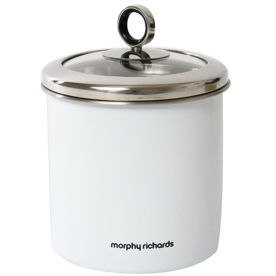 morphy-richards-accents-large-storage-canister-white