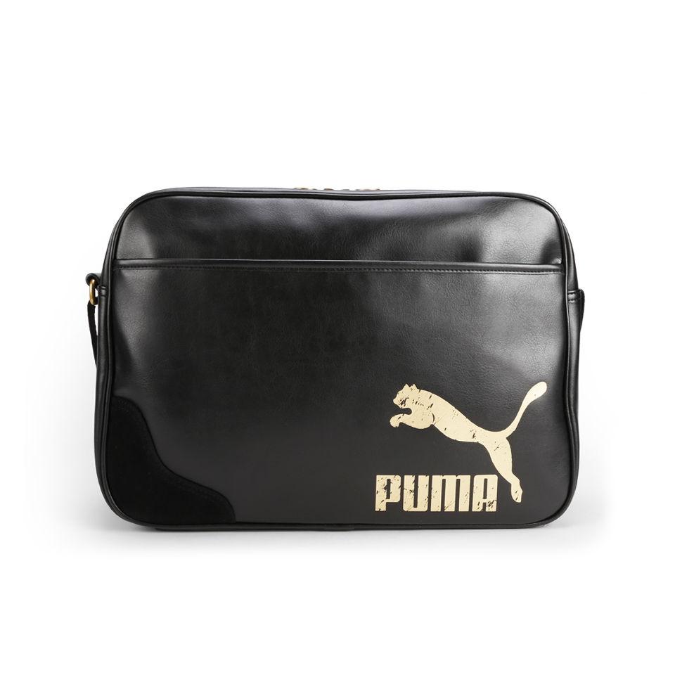 e18ebe4d12 Puma Originals Reporter Bag - Black Clothing