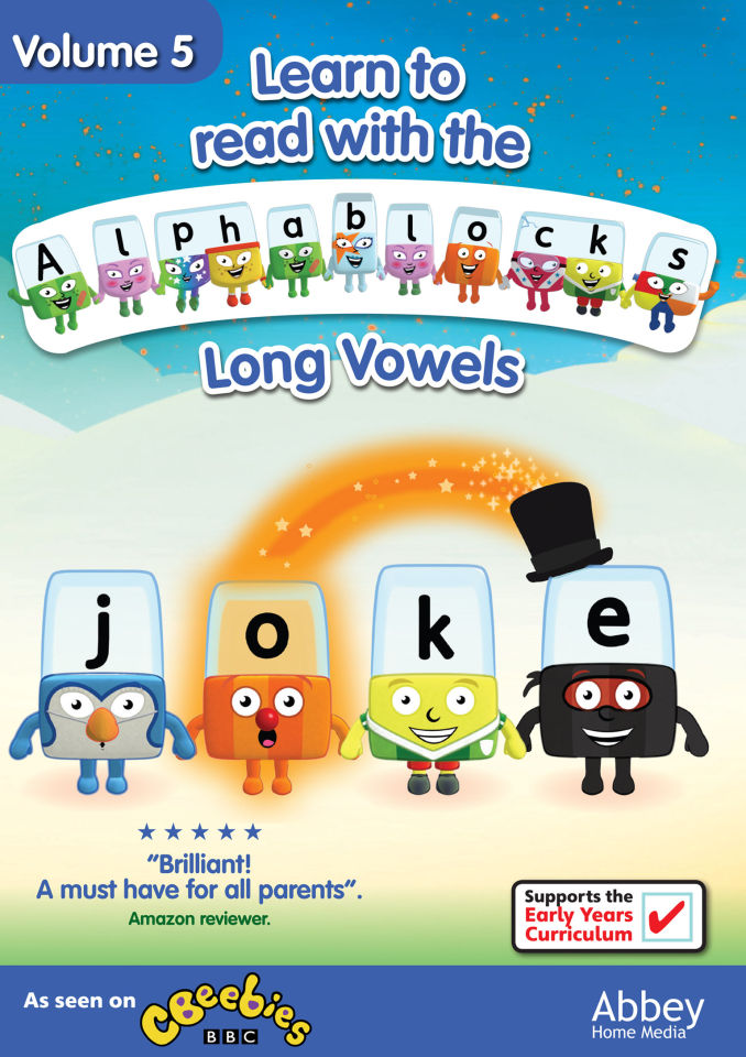 Alphablocks Long Vowels Volume 5 Dvd Zavvi