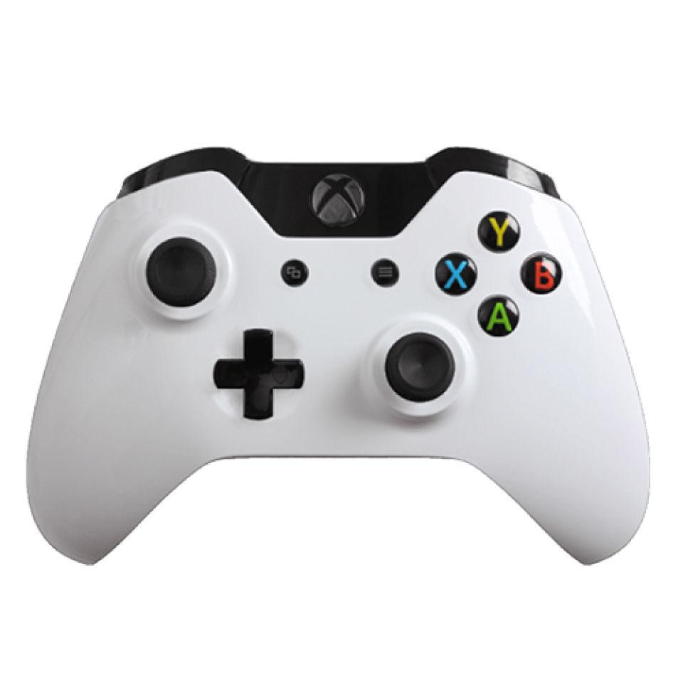 Xbox One Wireless Custom Controller - Gloss White Games ...