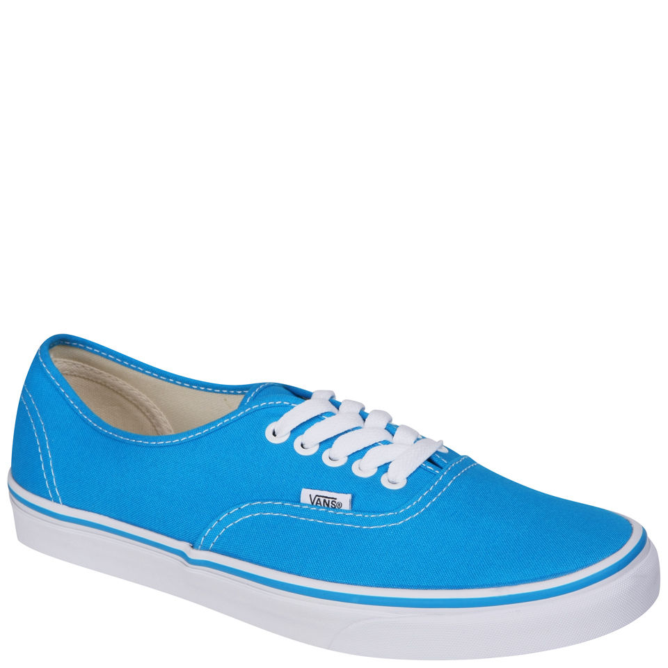 aada17e8b331 Vans Authentic Canvas Trainers - Methyl Blue True White Clothing ...