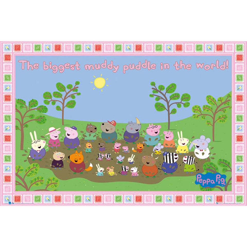 peppa-pig-muddy-puddle-maxi-poster-61-x-915cm