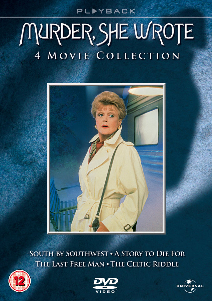 Murder She Wrote 4 Movie Collection Dvd Zavvi