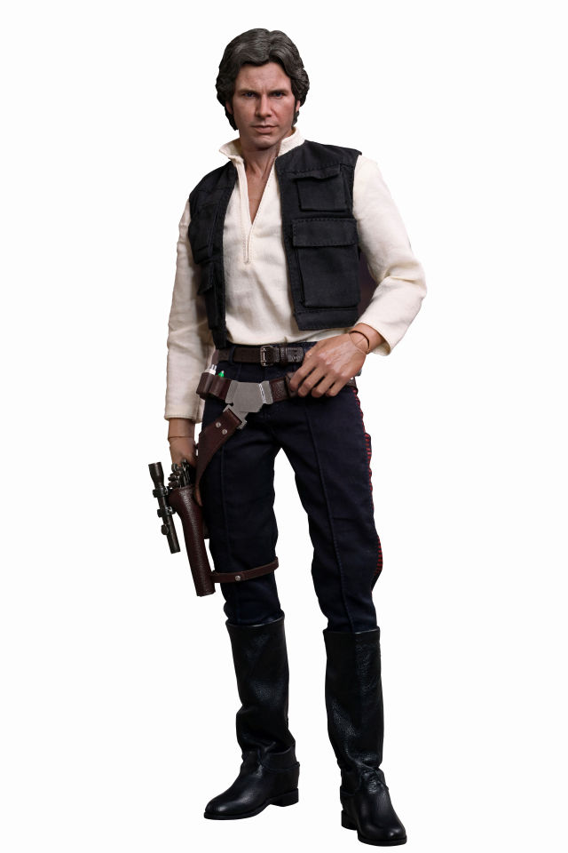 Hot toys star wars han solo masterpiece series 1 6 scale - Vaisseau star wars han solo ...