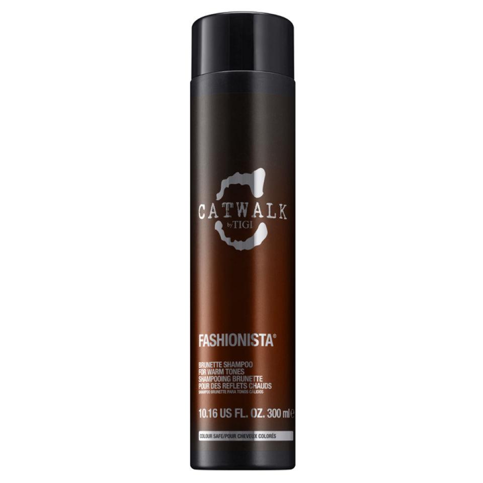 TIGI Catwalk Fashionista Brunette shampooing cheveux bruns (300ml)
