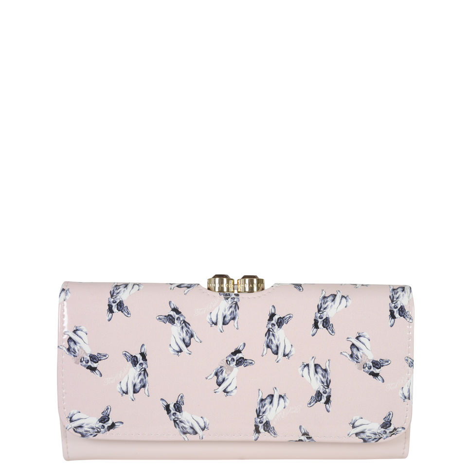 Ted Baker Women S Bobbin Leather Cotton Dog Print Matinee