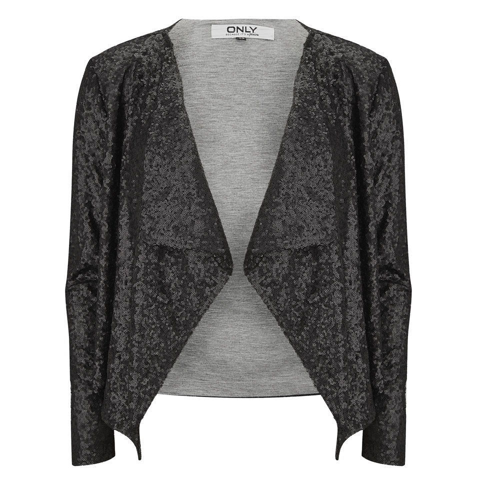 only-women-trudy-waterfall-sequin-jacket-black-xs-4
