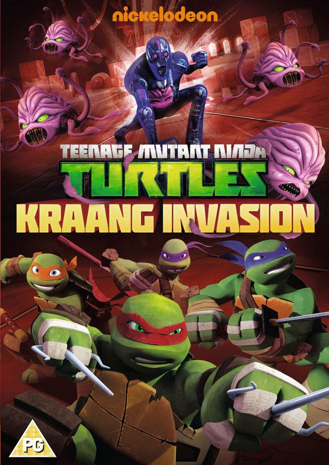 Teenage Mutant Ninja Turtles Kraang Invasion Dvd Zavvi