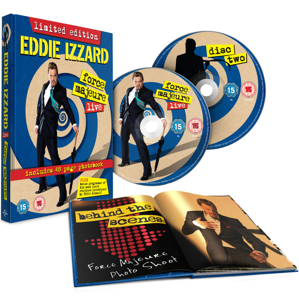 eddie-izzard-force-majeure-live-includes-48-page-photobook-edition