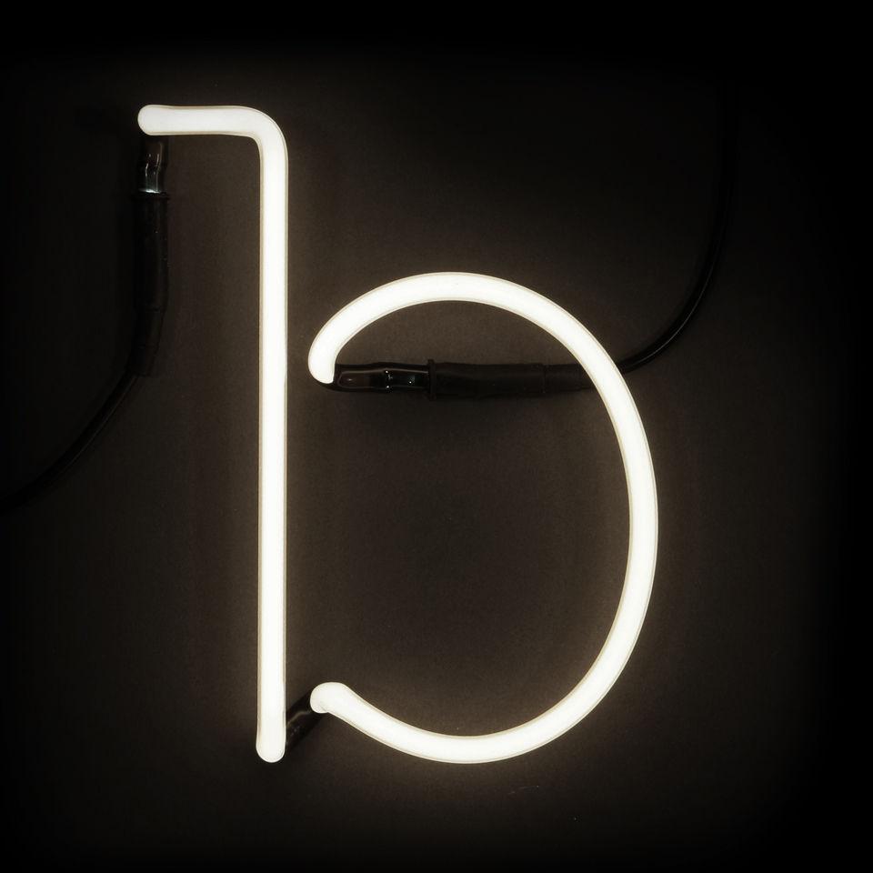 Seletti Neon Wall Light - Letter B IWOOT