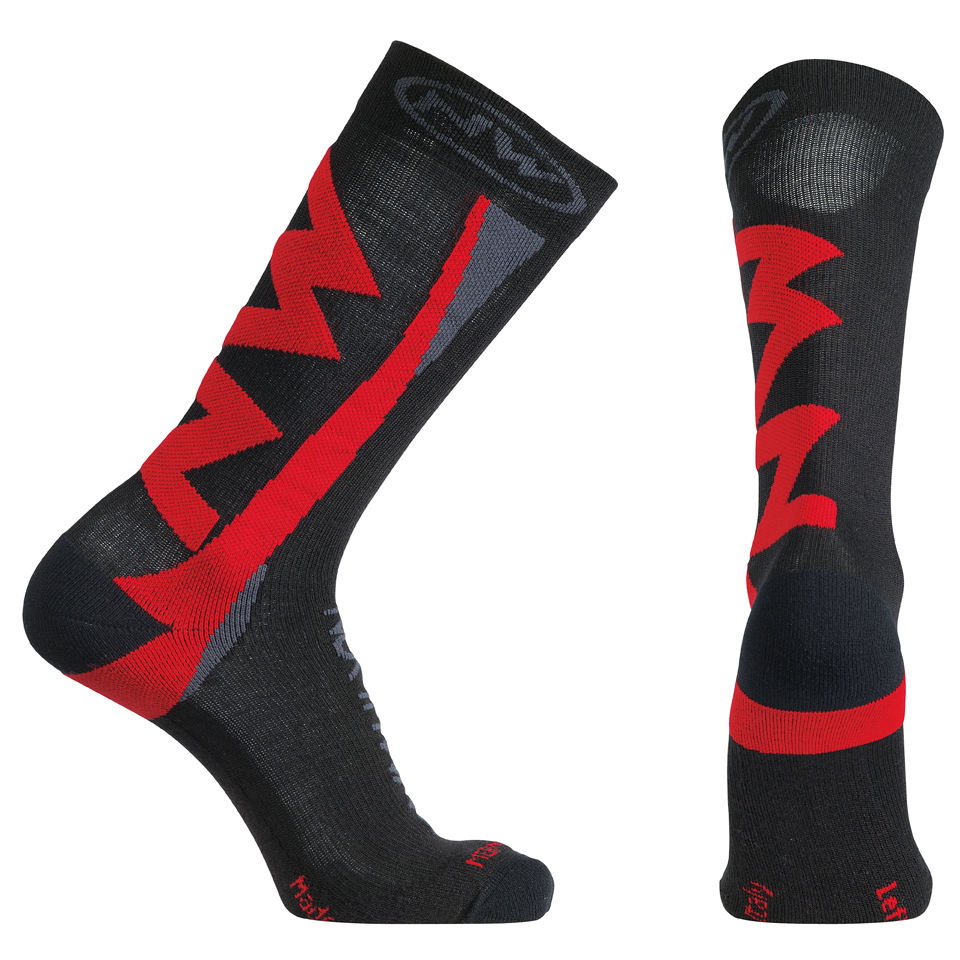 northwave-extreme-winter-high-socks-black-red-s