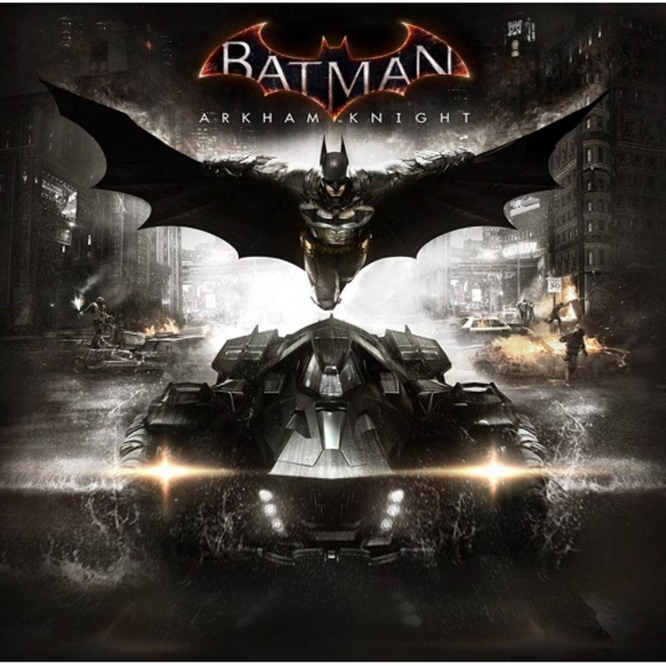 Lego Batman Arkham Knight: Hot Wheels Elite Batman Arkham Knight Batmobile 1:43 Scale