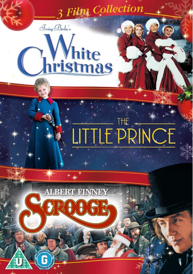 Colección Triple de Navidad - White Christmas / El Principito / Mr. Scrooge