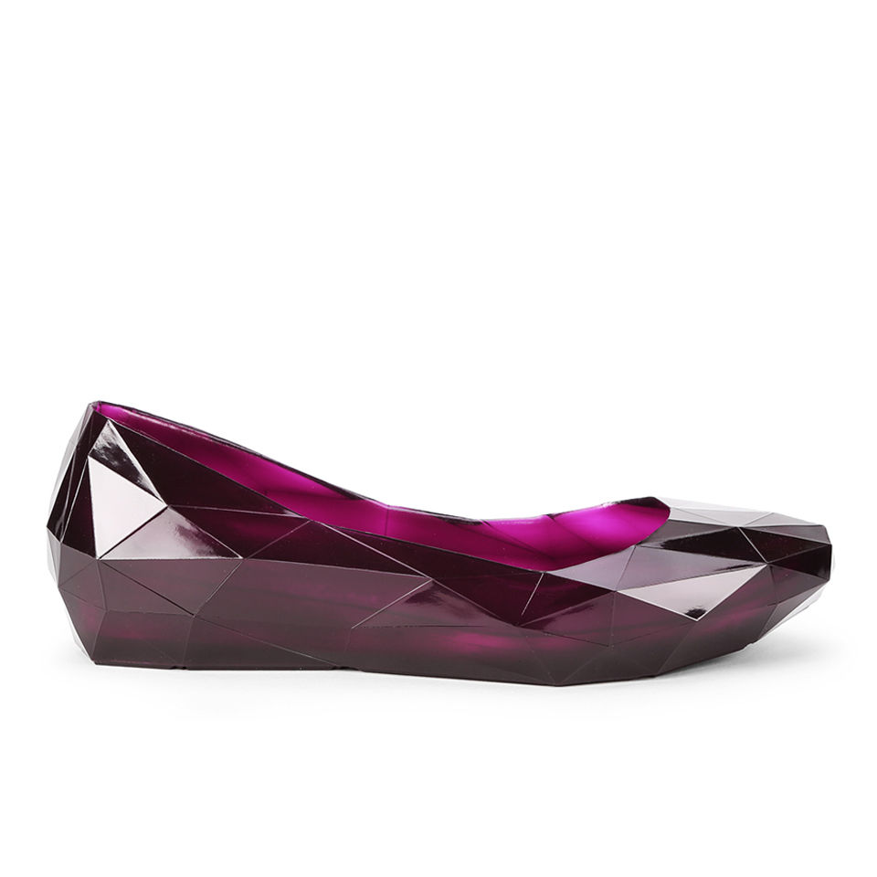 United Nude Womens Lo Res Lo Pumps - Burgundy - Free UK