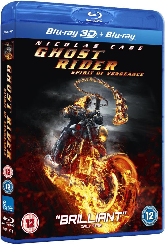 Ghost Rider Spirit Of Vengeance 3d Includes 2d Version
