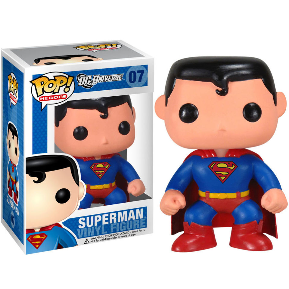 Funko Pop Superstore Toys Comics Collectibles: DC Comics Superman Pop! Vinyl Figure Merchandise