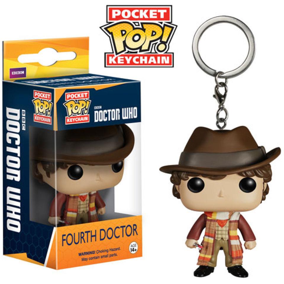 Doctor Who 4th Doctor Pocket Pop! Schlüsselanhänger