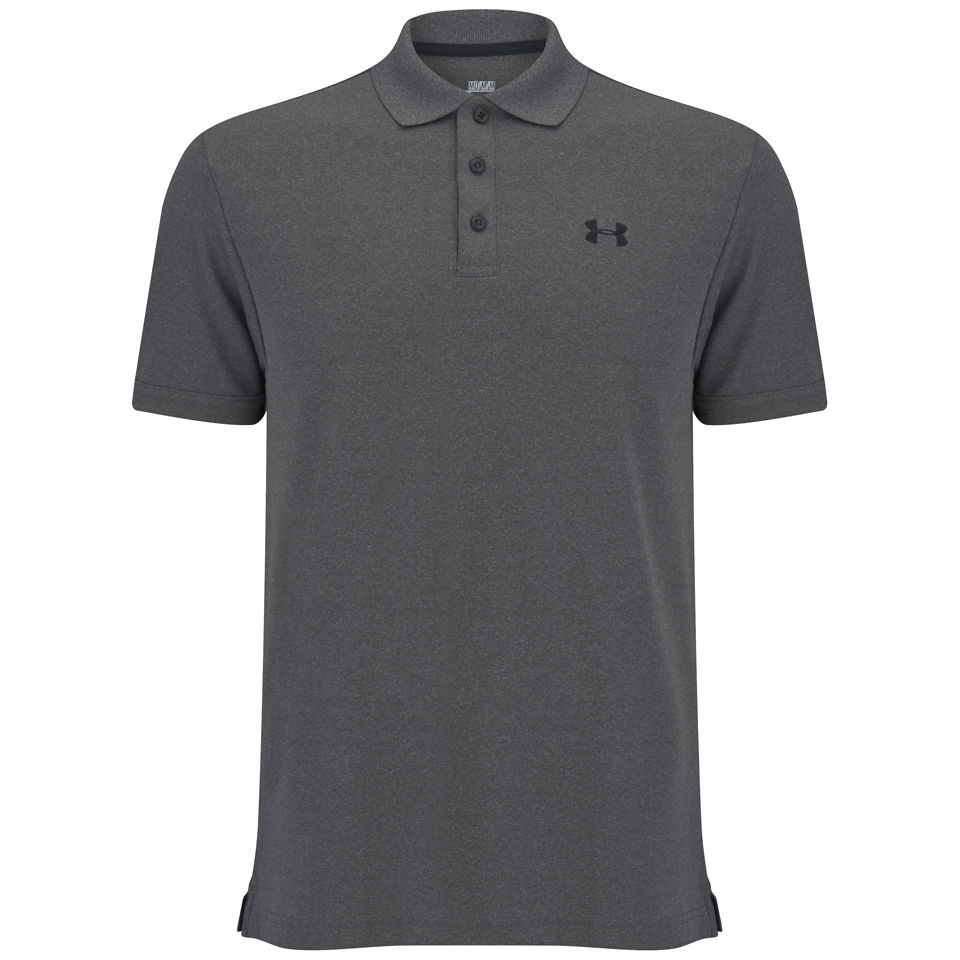 Under Armour Men 39 S Performance Polo Shirt 2 0 Grey Black