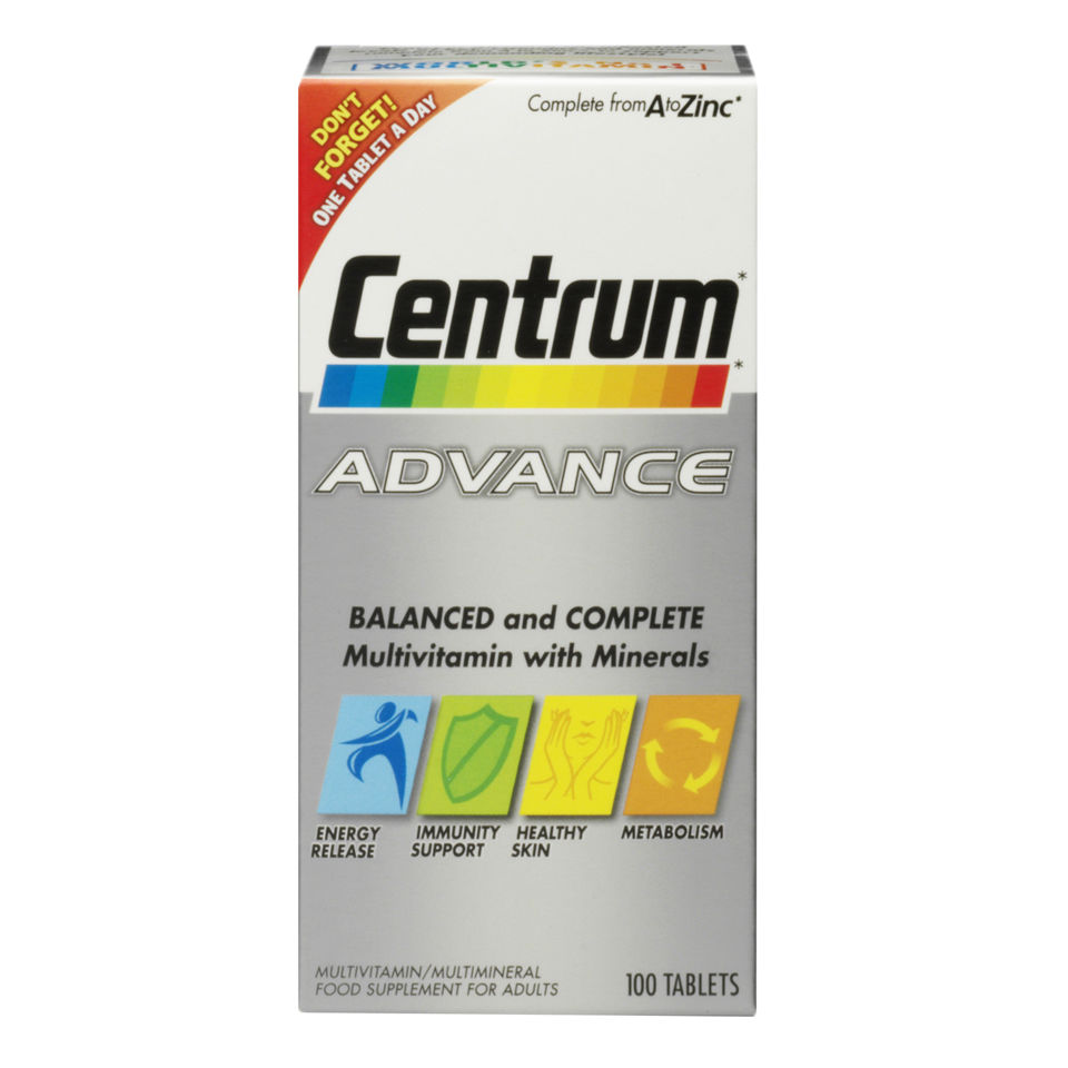 centrum-advance-100-tablets