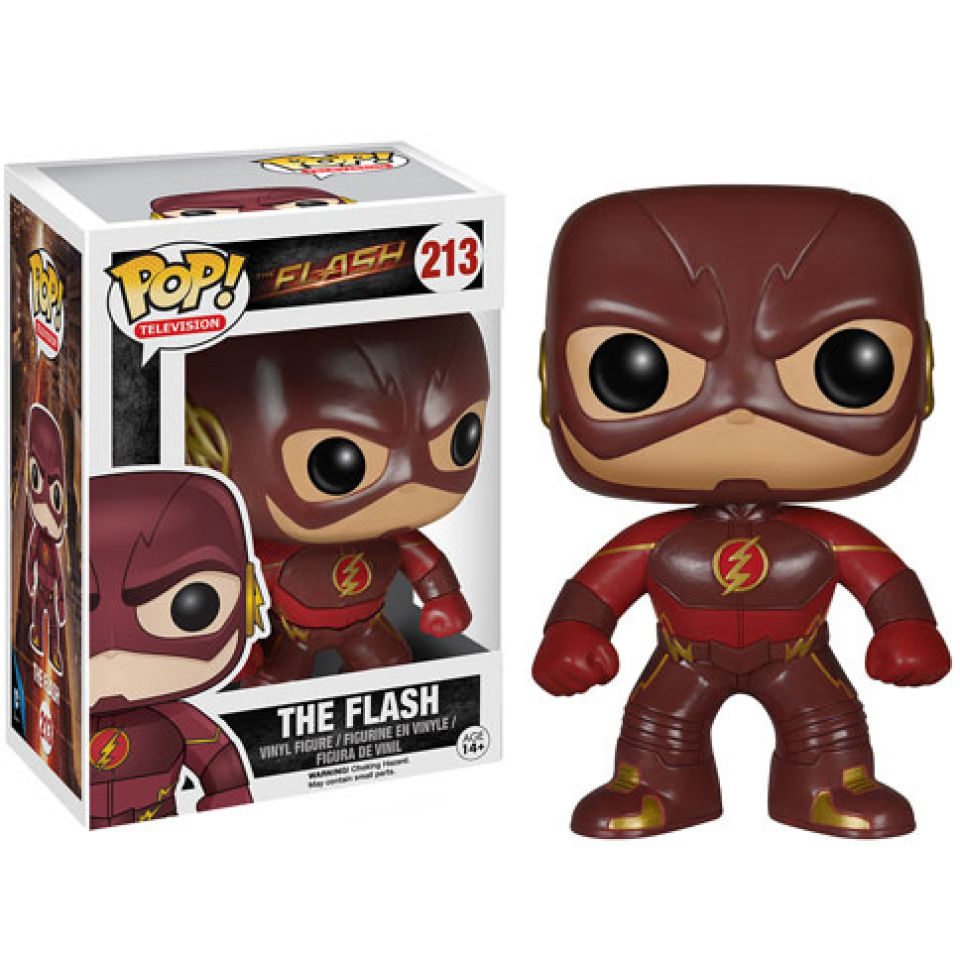 Figura Pop! Vinyl Flash - DC Comics Flash