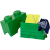 LEGO Storage Brick 2- Dark Green: Image 2