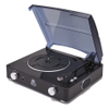 GPO Retro Stylo Turntable (3 Speed) with Built-In Speakers - Black: Image 1