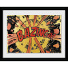The Big Bang Theory Bazinga Comic - 30x40 Collector Prints: Image 1