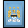 Manchester City Club Crest - 8x6 Framed Photographic: Image 1