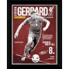 Liverpool Gerrard Retro - 16x12 Framed Photographic: Image 1