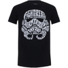 Star Wars Men's Stormtrooper Text Head T-Shirt - Black: Image 1