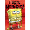 Spongebob Squarepants I Hate Mondays - 24 x 36 Inches Maxi Poster: Image 1