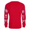 Doctor Who Dalek Snowflake Christmas Jumper - Red: Image 3