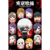 Tokyo Ghoul Chibi Characters - 24 x 36 Inches Maxi Poster: Image 1