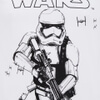 Star Wars Men's Stormtrooper Sketch T-Shirt - White: Image 4