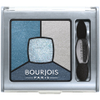 Bourjois Quad Smokey Stories Eye Shadow - Bleu Issant: Image 2