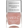 nails inc. Powered by Matcha King William Walk Sweet Almond Nail Varnish 14ml: Image 1