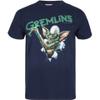 Gremlins Men's Crayon T-Shirt - Navy: Image 1