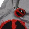 Marvel Deadpool Men's Paint Logo Hoody - Grey: Image 3