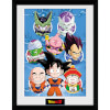 Dragonball Z Chibi Characters - 16 x 12 Inches Framed Photographic: Image 1