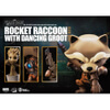Beast Kingdom Marvel Guardians of the Galaxy Egg Attack Rocket Raccoon with Dancing Groot 4 Inch Figure: Image 4