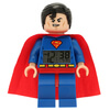 LEGO DC Comics Super Heroes Superman Mini Figure Clock: Image 1