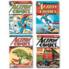 DC Comics Superman Comic Covers Set of 4 Coasters: Image 1