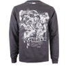 Marvel Men's Band of Heroes Sweatshirt - Dark Grey Marl: Image 1